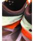 中古・古着 Li-Ning (リーニング) ハイカットスニーカー グレー×オレンジ サイズ:27cm AGWP027-1K ESSENSE 2 PLUS:10800円