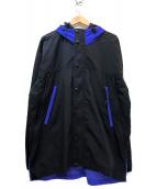 SIERRA DESIGNS(シェラデザインズ)の古着「マウンテンパーカー」 ブラック×パープル