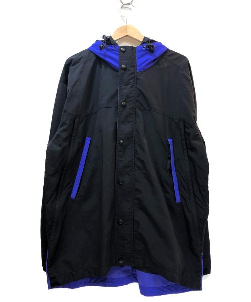 SIERRA DESIGNS(シエラデザインズ)SIERRA DESIGNS (シェラデザインズ) マウンテンパーカー ブラック×パープル サイズ:Lの古着・服飾アイテム
