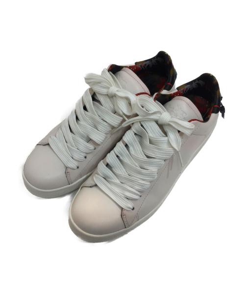 COACH(コーチ)COACH (コーチ) ローカットスニーカー ホワイト×マルチカラー サイズ:27cm G1676の古着・服飾アイテム