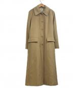MARELLA(マレーラ)の古着「カシミヤ混バージンウールコート」|ブラウン