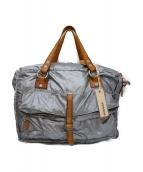 DIESEL(ディーゼル)の古着「USED加工2WAYボストンバッグ」|シルバー