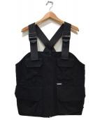 X-LARGE(エクストララージ)の古着「CHEST RIG VEST」|ブラック