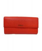 FURLA(フルラ)の古着「長財布」|レッド