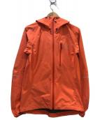 HAGLOFS(ホグロフス)の古着「W LIM IIIジャケット」|オレンジ