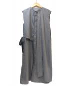 PEGGY LANA(ペギーラナ)の古着「シャツワンピース」|グレー