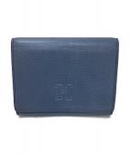 HIROFU(ヒロフ)の古着「2つ折り財布」|ブルー