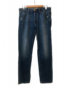 PT05(ピーティーゼロチンクエ)の古着「ボタンフライデニムパンツ」|インディゴ