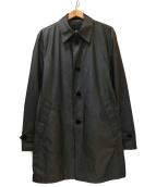 BURBERRY BLACK LABEL(バーバリーブラックレーベル)の古着「ステンカラーコート」|グレー