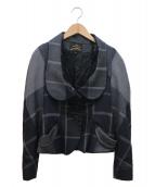 VIVIENNE WESTWOOD ANGLOMANIA(ヴィヴィアンウエストウッド アングロマニア)の古着「変形デザインジャケット」 グレー