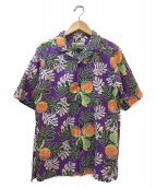 pataloha(パタロハ)の古着「アロハシャツ」|パープル