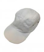 Supreme×LACOSTE(シュプリーム×ラコステ)の古着「コラボ5パネルキャップ」|ホワイト