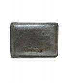 GIVENCHY(ジバンシィ)の古着「三つ折り財布」|シルバー