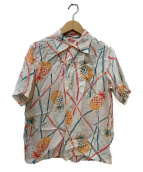 Sun Surf(サンサーフ)の古着「アロハシャツ」 ホワイト