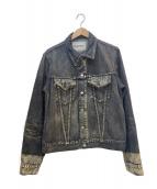 YS for men(ワイズフォーメン)の古着「デニムジャケット」|グレー