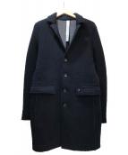 MASONS(メイソンズ)の古着「ウールチェスターコート」|ネイビー