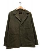 Needles(ニードルス)の古着「3Bウールジャケット」|ブラウン