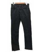 Denham(デンハム)の古着「レイザースリムフィットパンツ」|ブラック