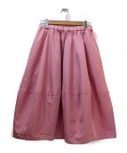 COMME des GARCONS COMME des GARCONS(コムデギャルソンコムデギャルソン)の古着「スカート」|ピンク