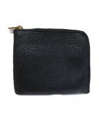 ()の古着「L字ファスナー財布」|ブラック