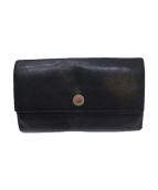BVLGARI(ブルガリ)の古着「長財布」 ブラック