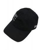 uniform experiment(ユニフォームエクスペリメント)の古着「キャップ」|ブラック