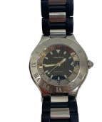 Cartier(カルティエ)の古着「リストウォッチ」|ブラック