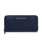 MICHAEL KORS(マイケルコース)の古着「長財布」|ネイビー