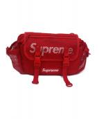 Supreme(シュプリーム)の古着「ウエストバッグ」|レッド×ホワイト