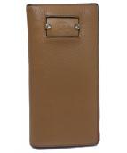 Christian Louboutin(クリスチャン ルブタン)の古着「長財布」|ブラウン