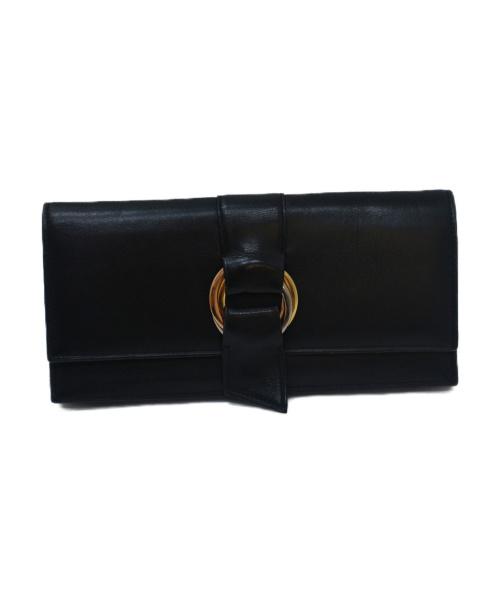 Cartier(カルティエ)Cartier (カルティエ) 長財布 ブラック レザーの古着・服飾アイテム