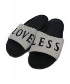 LOVELESS(ラブレス)の古着「シャワーサンダル」|ブラック