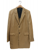 TAKEO KIKUCHI(タケオキクチ)の古着「ロング丈ドレスジャケット」|ブラウン