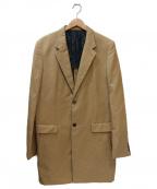 TAKEO KIKUCHI(タケオキクチ)の古着「ロング丈ドレスジャケット」 ブラウン