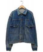 LEVI'S(リーバイス)の古着「ヴィンテージセカンドデニムジャケット」|インディゴ