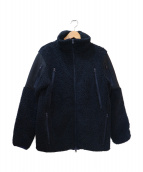 SILAS(サイラス)の古着「ボアフリースジャケット」|ネイビー