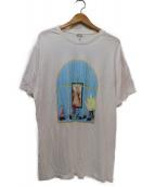 LOEWE(ロエベ)の古着「プリントTシャツ」 ホワイト×ブルー