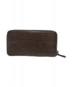 ()の古着「長財布」|オリーブ