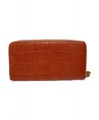 ()の古着「長財布」|ピンク