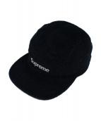 Supreme(シュプリーム)の古着「ボックスロゴコーデュロイキャップ」 ブラック