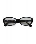 FENDI(フェンディ)の古着「伊達眼鏡」|ブラック