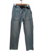 GRAMICCI(グラミチ)の古着「クライミングデニムパンツ」|ブルー
