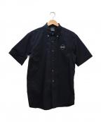 F.C.R.B.()の古着「ワンポイントロゴBDシャツ」 ブラック