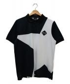 F.C.R.B.(エフシーアールビー)の古着「ワンポイントロゴポロシャツ」|ネイビー×ホワイト