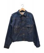 Wrangler(ラングラー)の古着「復刻デニムジャケット」|ネイビー