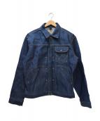 Wrangler(ラングラー)の古着「復刻トラッカーデニムジャケット」|インディゴ