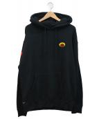 RIPNDIP(リップンディップ)の古着「プルオーバーパーカー」|ブラック