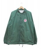 RIPNDIP(リップンディップ)の古着「コーチジャケット」|グリーン