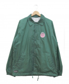 RIPNDIP(リップンディップ)の古着「コーチジャケット」 グリーン