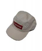 Supreme(シュプリーム)の古着「5パネルキャップ」|ホワイト×レッド